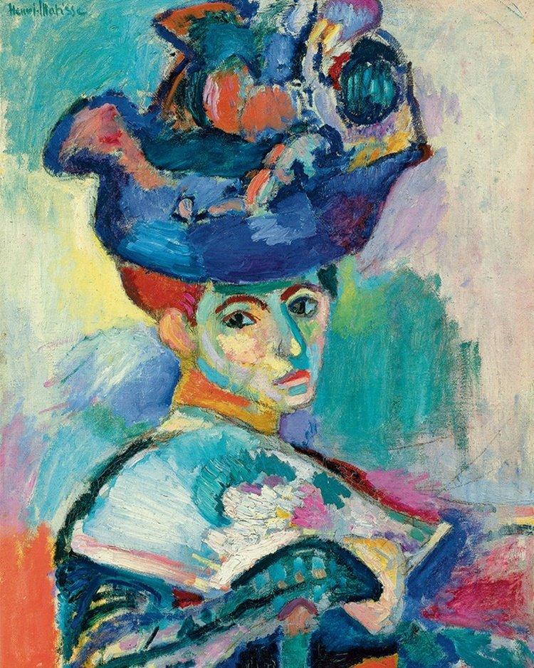 Movimientos Artisticos,Matisse Fauvismo, las vanguardia