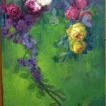 Pintando al oleo
