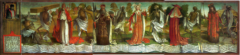 Carpe diem y otros topicos del renacimiento, artistas renacentistas, notke: danza de la muerte