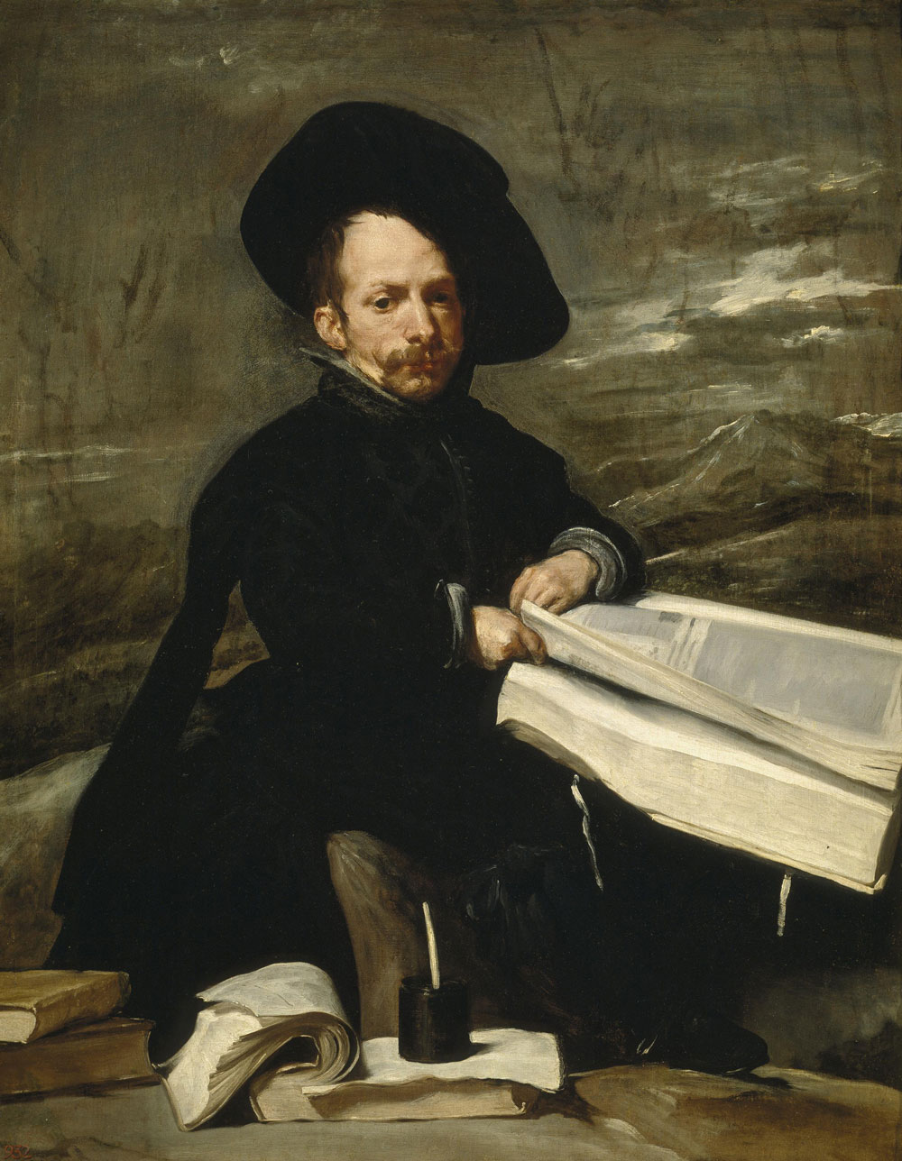 Velázquez pinturas, El bufón don Diego de Acedo «el Primo»