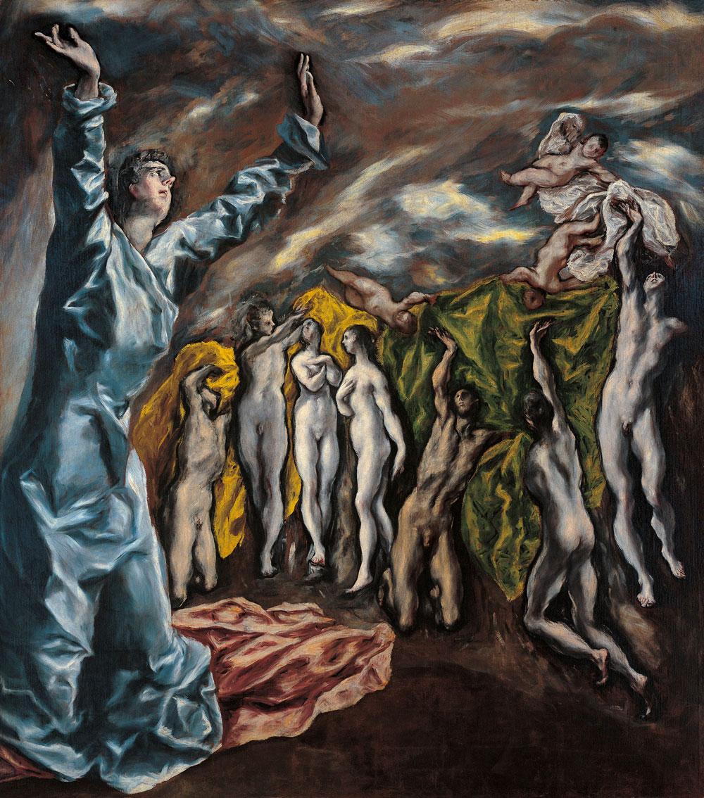 Visión del Apocalipsis (1608-1614), óleo sobre lienzo, Museo Metropolitano de Arte, Nueva York.