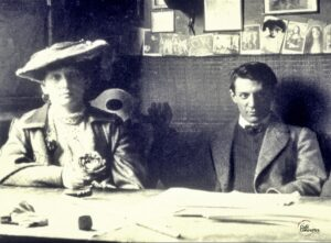 fotografía de Picasso con Fernande Oliver